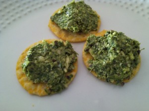 cilantro chelation pesto