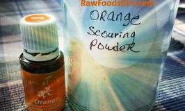 orange scouring powder